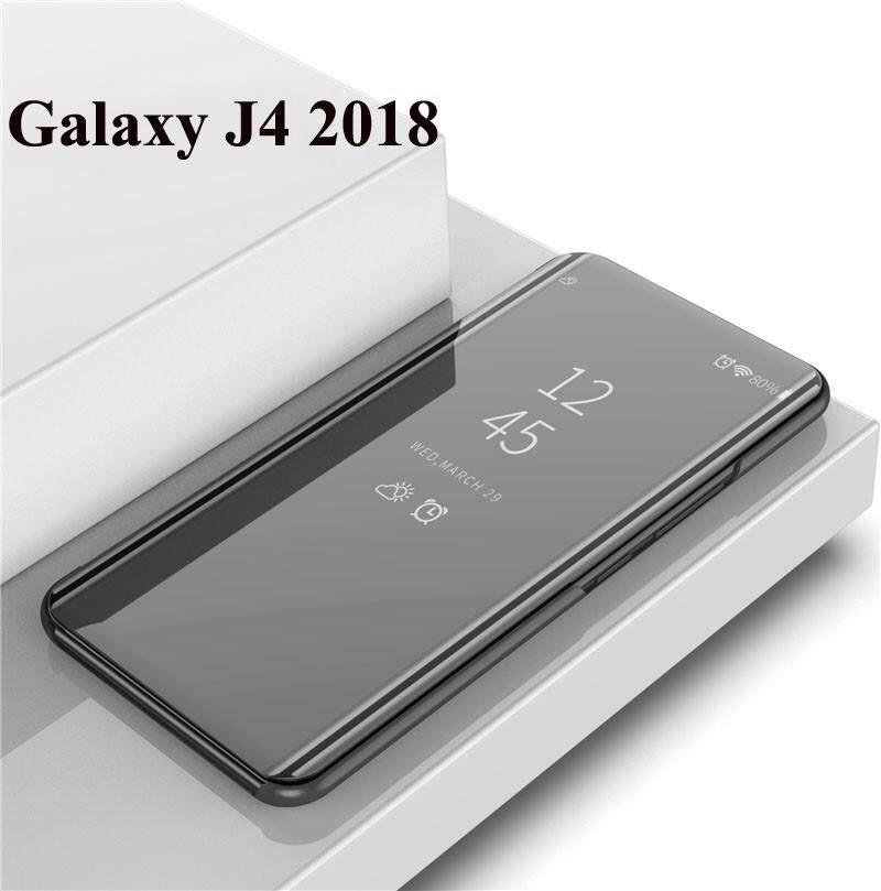 Untuk Samsung Galaxy J6 2018/J4 2018/J8 2018 Cermin Pintar HP Casing Pelindung Utuh Penutup Telepon
