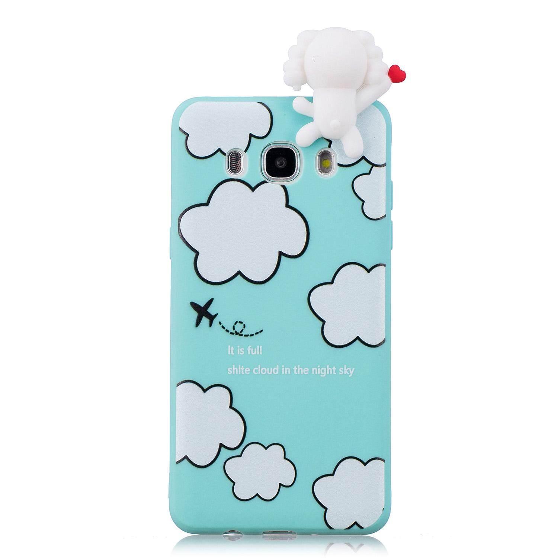 Detail Gambar Lovely 3D TPU Soft Phone Case For Samsung J5 2016 Unicorn Panda Cute Pattern Drop-proof Silicon Cover For Samsung Galaxy J5 2016/ J510 Terbaru