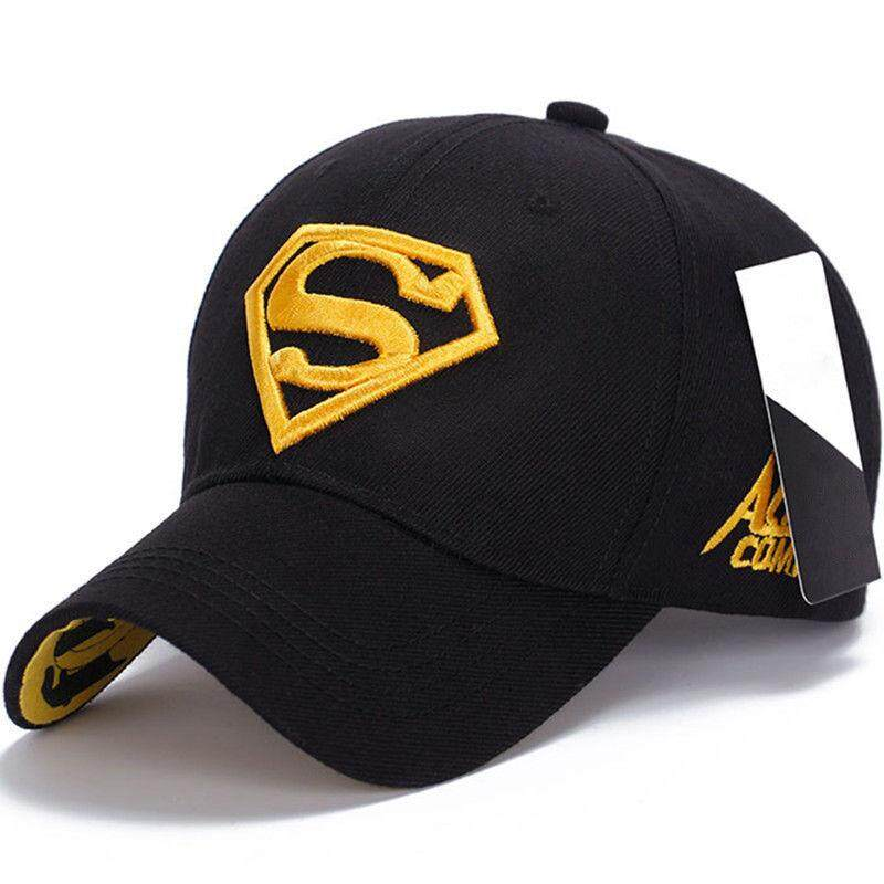 Mode untuk Pria Superman Topi Bisbol Outdoor Tutup Tabir Surya Liar  Pelindung Waktu Luang Hat c6f5436bf4