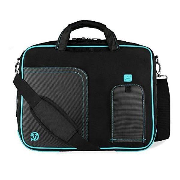Laptop Messenger Bags Water Resistant Nylon Aqua Laptop Messenger / Shoulder Bag for Acer Chromebook 11.6 13.3 14 Inch - intl