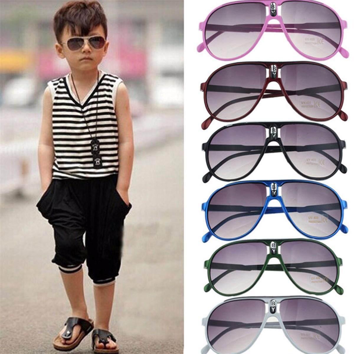 a65b1f2f51 Fashion Children Sunglasses Boys Girls Kids Baby Child Sun Glasses Goggles  UV400 Mirror Glasses(6 Colors)