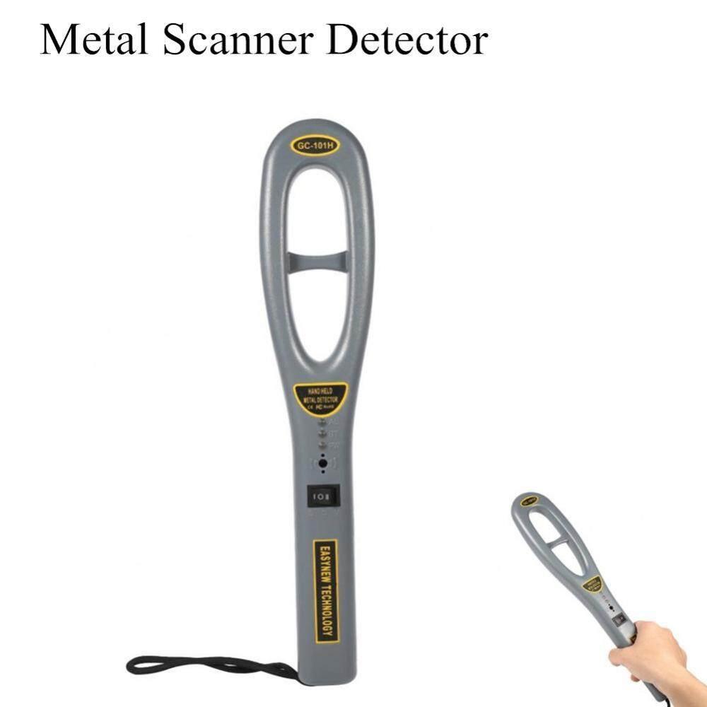 Justgogo Portable Metal Scanner Detector Lightweight High Sensitivity Handheld Security Finder - intl