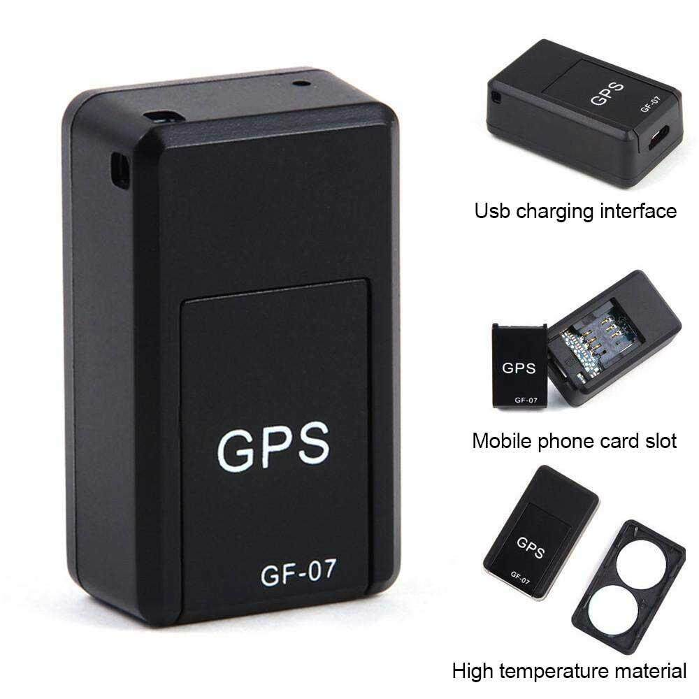 Aolvo Mini Car Magnetic GPS Tracker Real-Time Portable Magnetic Tracking Device GPRS Locator Global