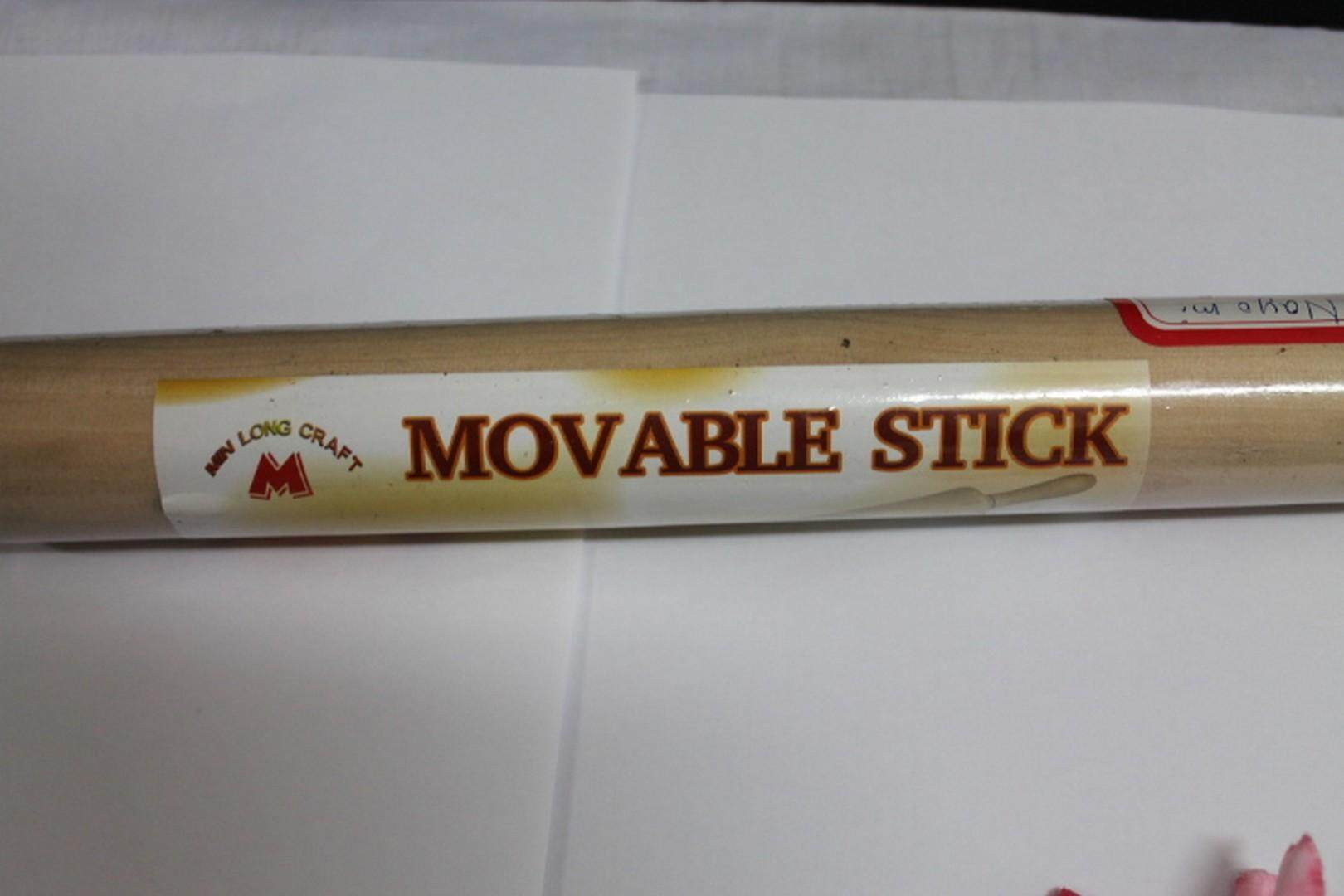 1 piece Bakery Moveable Wooden Stick 26.5cm. Same Day Ship ! (Brown)