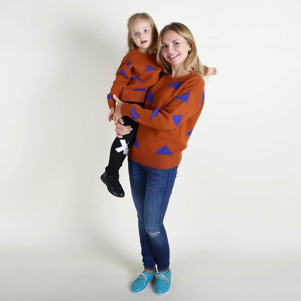 Tideshop Ibu Keluarga Anak Perempuan Yang Sesuai Dengan Sweater Gadis Wanita Sweater Rajut Pakaian By Tideshop.