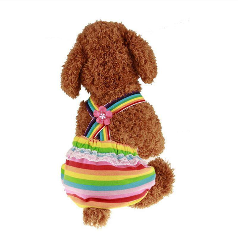 Female Pet Dog Diapers Sanitary Physiological Pants Adult Dog Underwear Washable