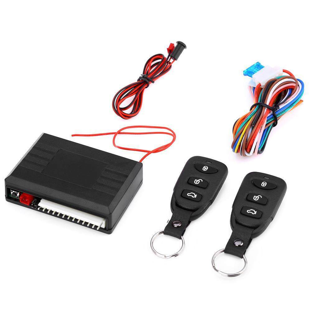 Alarm Systems Accessories Buy At Ford Transit Central Locking Wiring Diagram Pdf Niceeshop Universal Car Door Lock Vehicle Keyless Entry System Auto Remote Kit With Control Box