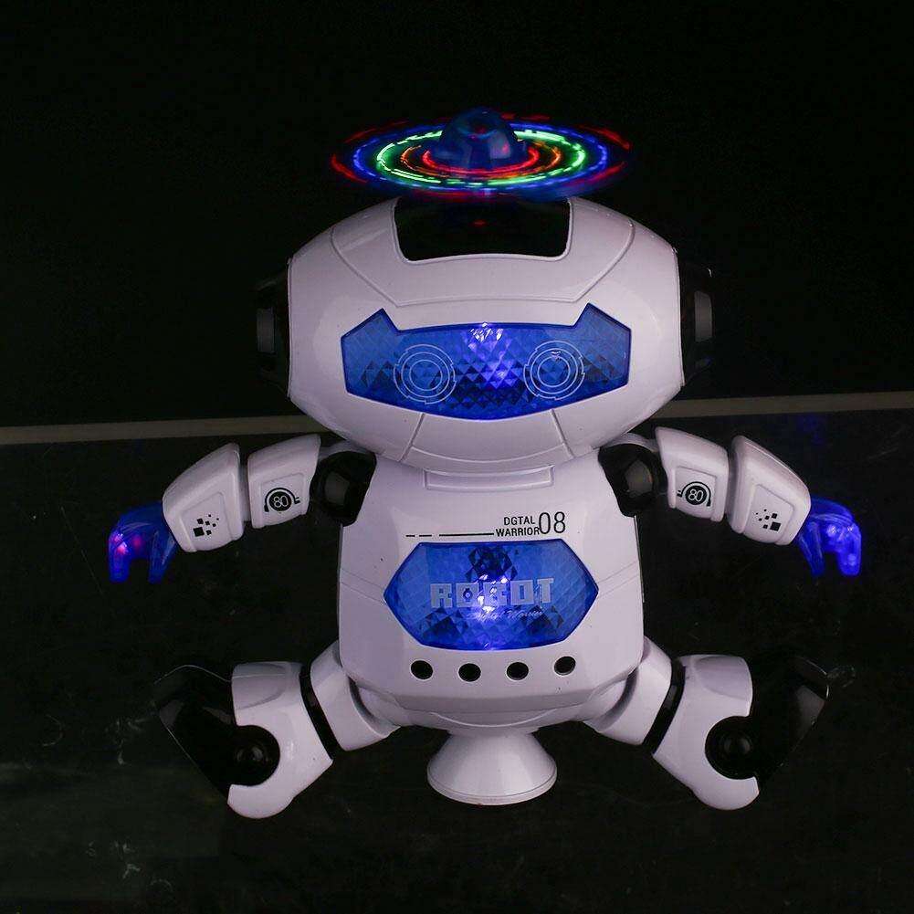 ... Smart Electric Menari Musik Robot Berkedip Mainan Hadiah Childreen Anak-anak Permainan Menyenangkan - 4 ...