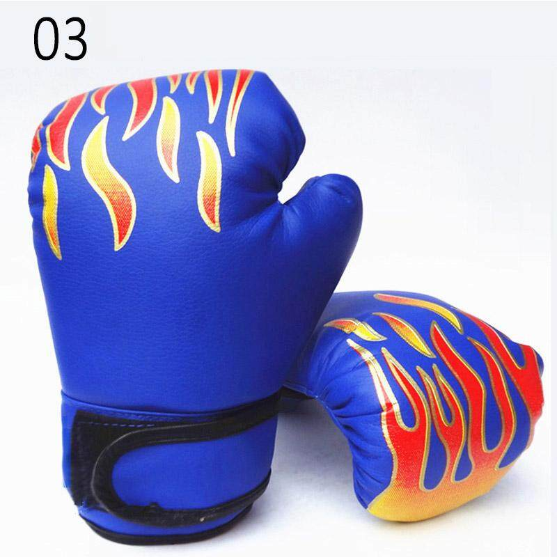 Palight Kids Boxing Gloves Pu Leather Sparring Kickboxing Training Gloves - Intl By Palight.