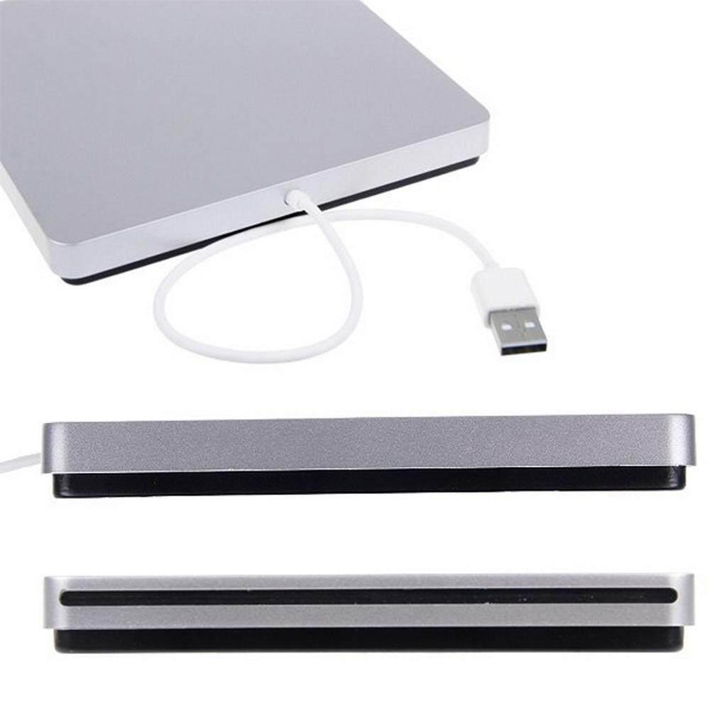 Elec USB E * Xternal Slot Di Dvd Cd Drive Burner SuperDrive untuk Apple untuk Macbook Air Pro Kenyamanan untuk Bermain Musik film
