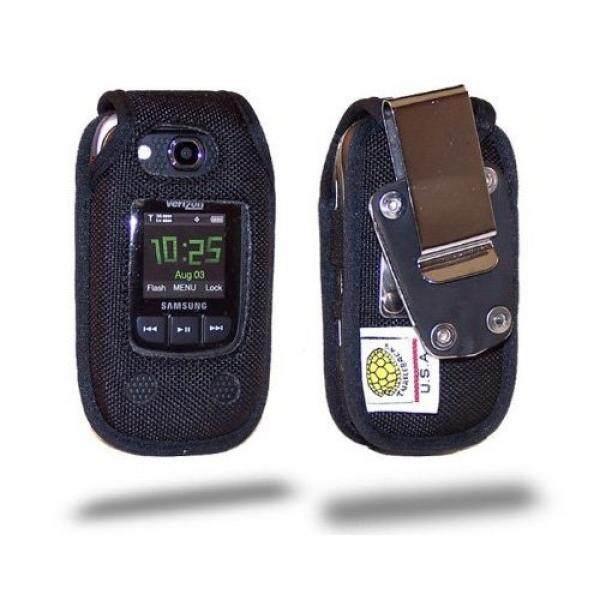 Smartphone Case S Turtleback Case untuk Samsung Konvoi 2 U660 Tugas Berat Casing Ponsel dengan Logam Berputar Klip Sabuk, dibuat Di Amerika Serikat-Intl