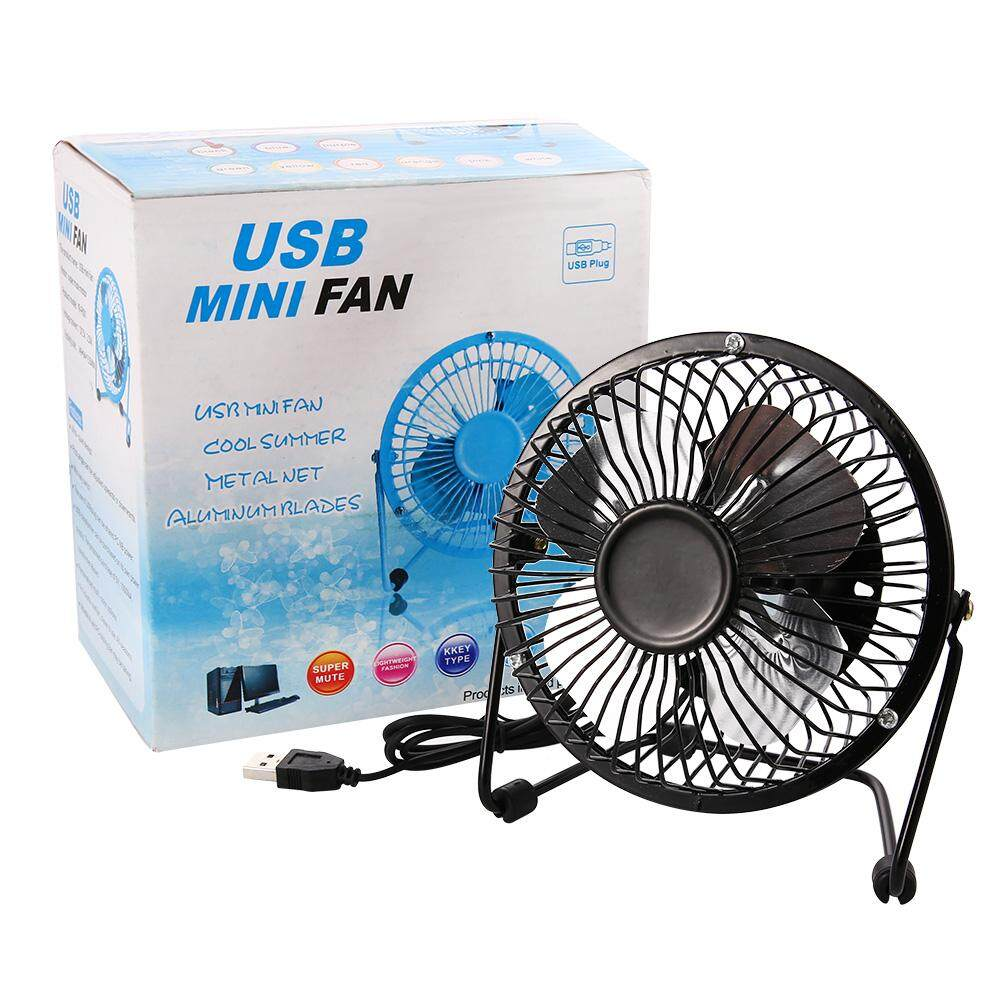 Bảng giá Mini USB Table Desk Personal Fan USB-PoweredPortable Fan Desktop USB Fan Portable Cooling Solution Portable for Desktop Tabletop Floor Office Room Travel Phong Vũ