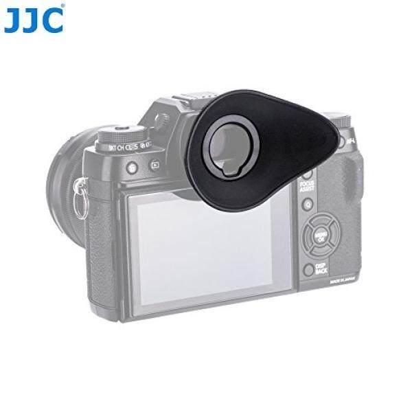 JJC Oval Shape 360º Rotatable Camera Eyecup Eyepiece Viewfinder Protector for Fujifilm GFX 50S (EVF-GFX1) / X-H1 / X-T2 / X-T1 , Replaces Fuji Eye Cup EC-XH W / EC-GFX / EC-XT L / EC-XT M / EC-XT S
