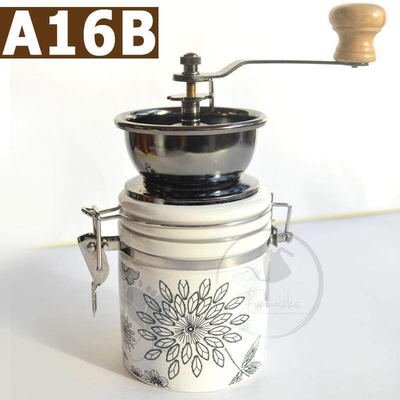 Fumumoka A16B Modern Kitchen Handheld Coffee Bean Grinder Ceramic Coffee Grinder