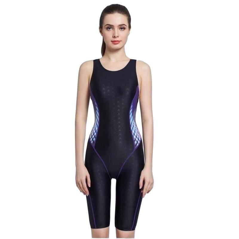 c1e8f416a14 HKMall Arena Shark Skin Women Swimwear Snorkel Surf Bathing Swim Suit  Swimsuit One Piece Plus Size