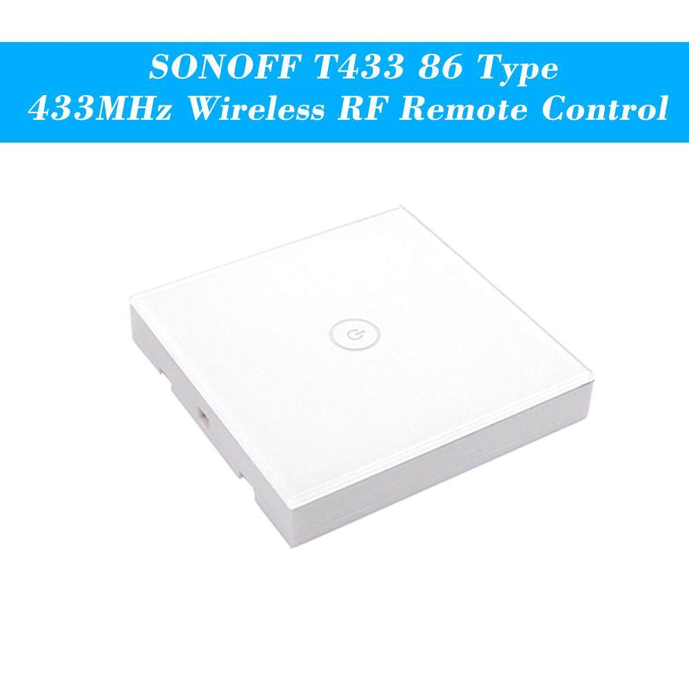 Buy Sell Cheapest Lissng Sonoff T1 Best Quality Product Deals Saklar Lampu Sentuh Remote I Touch Panel 3 Button Tombol Way T433 86 Type Luxury Wall Sticky 433mhz Wireless Rf Control Transmitter Automation