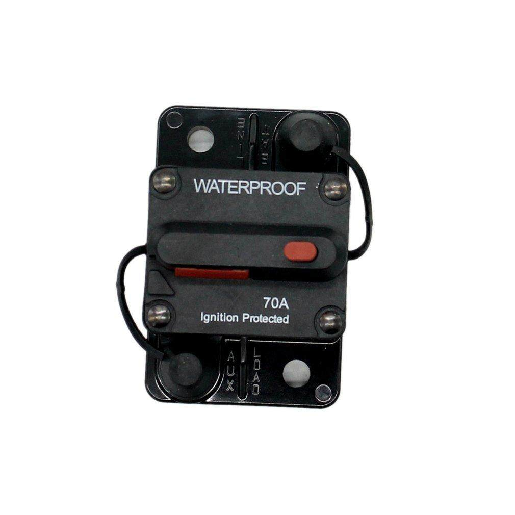 WLLW F433 Circuit Breaker Surge Protector Flush-Mount Switchable With Manual Reset