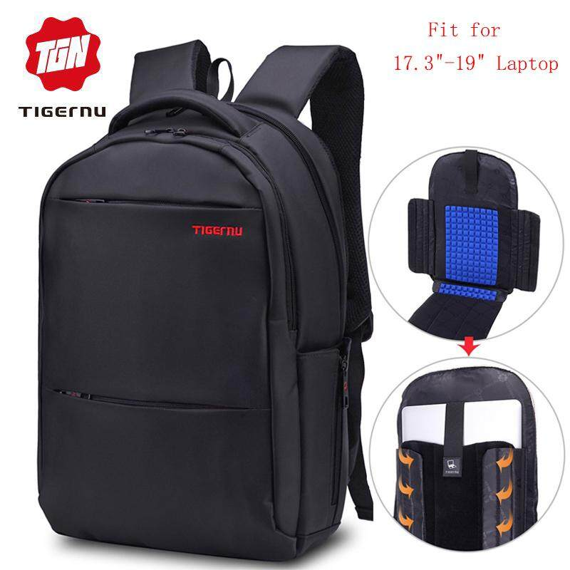 b4b4af095135 2018 Tigernu Men s Backpack Large Capacity Fit 17.3 inch 19 inch Laptop  Daily Anti theft Laptop