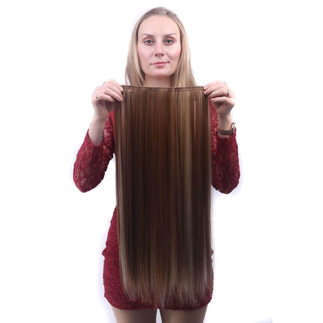Flash Sale Pura-pura rambut lurus pinggir Bang sopak penuh poni sopak  kliphair extension di. Source · Eropa Panjang Wig Rambut Lurus Klip  Perempuan Ekstensi ... abe4e2d6e0