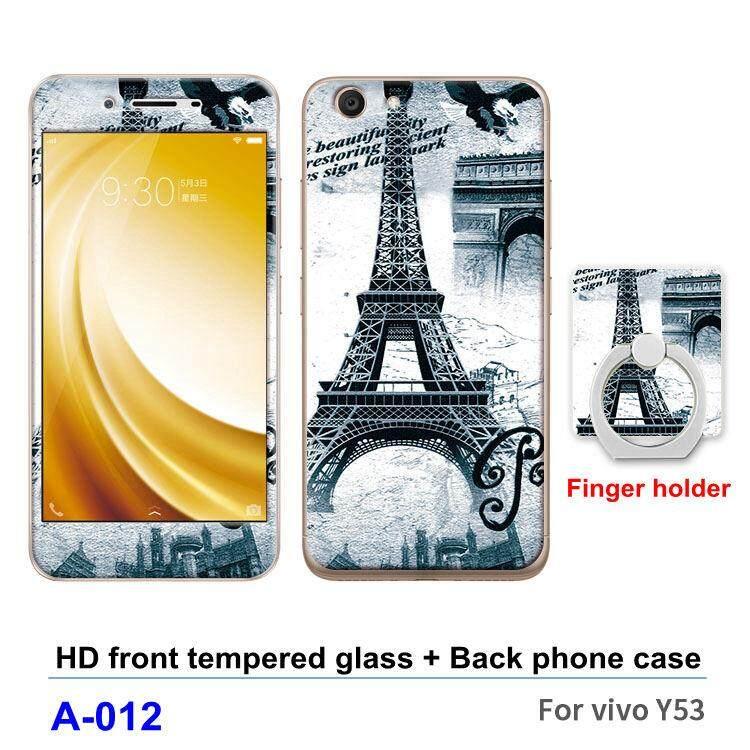 Untuk Vivo Y53/Y53A/Y53L Case Pelindung Layar 360 Derajat Casing TPU Lunak Plastik