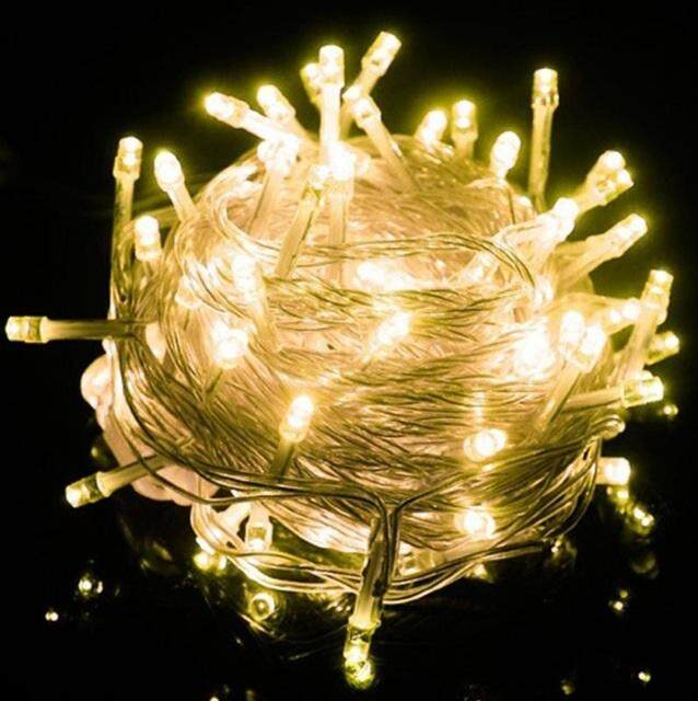 10M 100 LED Waterproof 220V Fairy String Lights Decorative