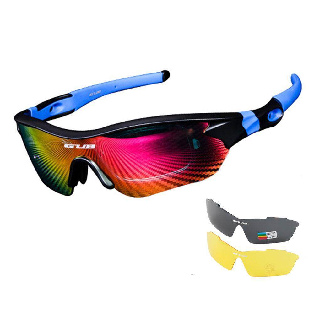 34a1d7ae7ae4 Aolvo GUB Polarized Sports Outdoor Sunglasses for Outdoor Cycling Riding  Hiking Fishing Golf Unisex
