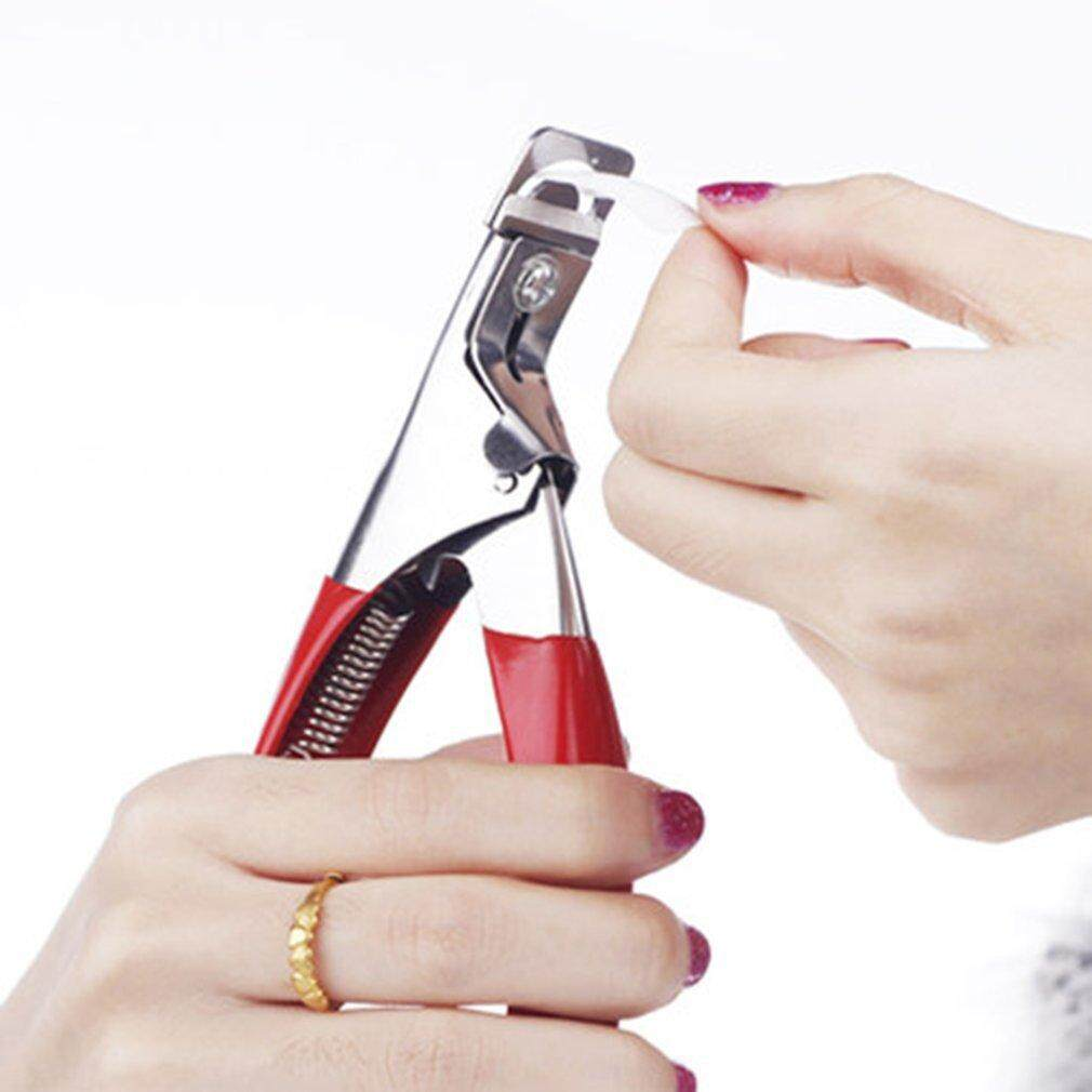 Chunnuan Nail Art Side Cutter UV Kuku Palsu Akrilik Clipper Tips Geser Manikur Trimmer-Intl