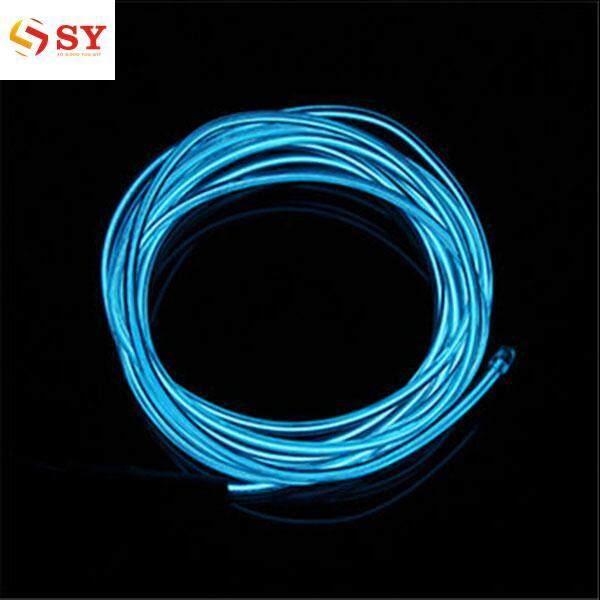 Features 1pcs El Wire Rope Car Party Dance Decor Flexible Neon Light ...