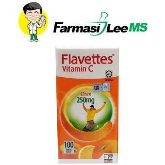 Flavettes Vitamin C 250mg 100s Orange (Exp 02/2021)
