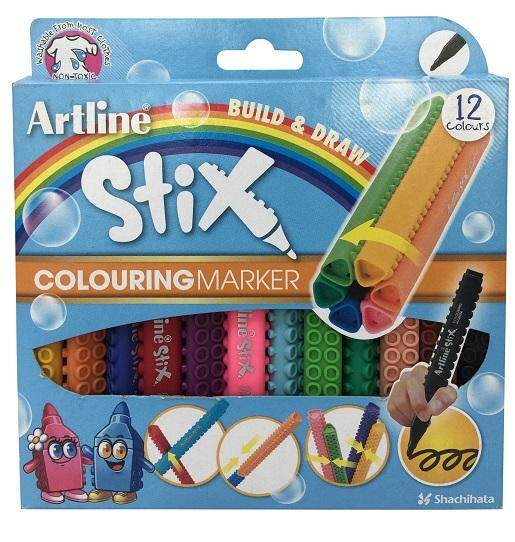 ARTLINE ETX-300 STIX 12 COLORING MARKER ISBN: 4974052862076