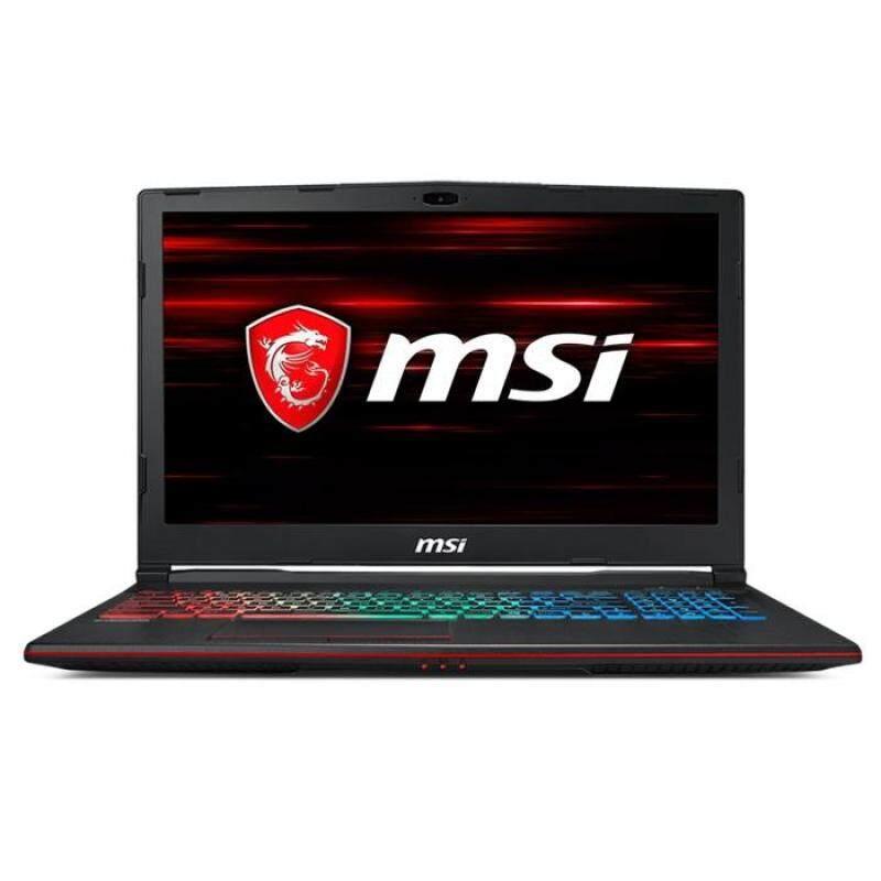 MSI GP63-8RD-409MY Leopard Gaming Notebook (15.6inch / Intel I7 / 8GB / 1TB + 128GB SSD / GTX1050TI 4GB) Malaysia