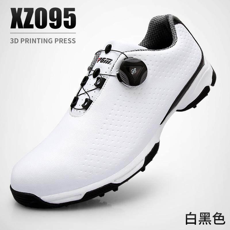 Item Baru! Pgm Golf Sepatu Bola Pria Tahan Air Sepatu Paten Berputar Tali Sepatu 3d Pelat By Koleksi Taobao.