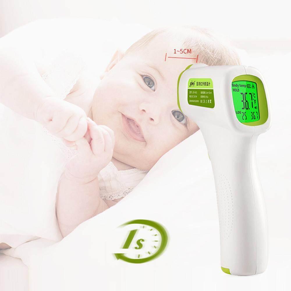 Niceeshop Digital Termometer Dahi Inframerah untuk Bayi dan Dewasa Pengukuran Suhu Tubuh, Tidak Ada Sentuhan Hasil Instan