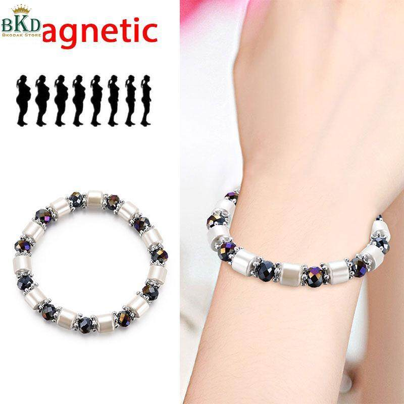 Bokeda Store Bio Magnetic Neutral Weight Loss Bracelet Magnetic Beaded Bracelet By Bokeda Store.