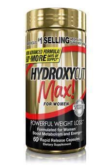 Hydroxycut Max for Women Fat Burner - Weight Loss [Original]