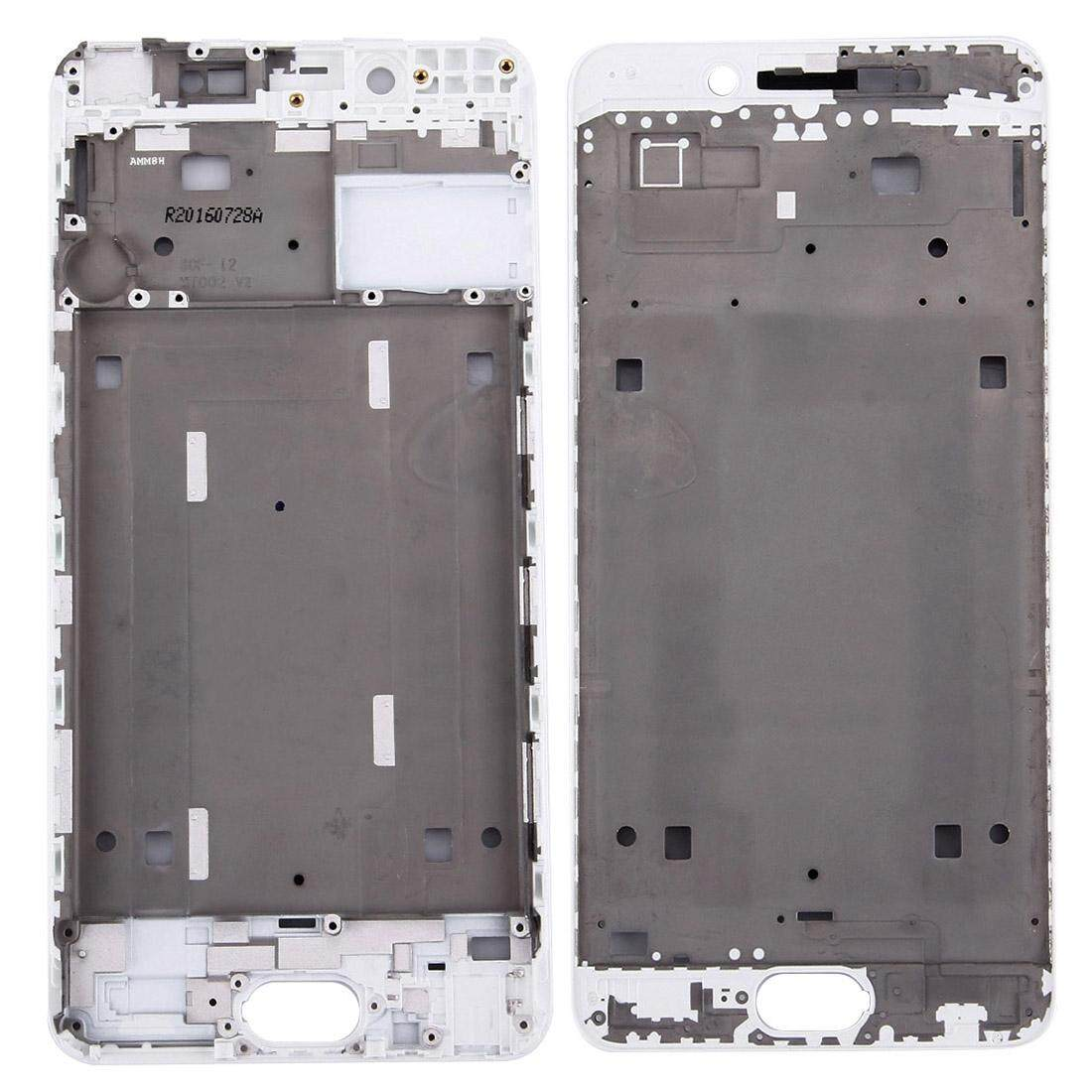 Vivo X7 Plus Hunian Depan LCD Bingkai Pelat Bezel (Putih)