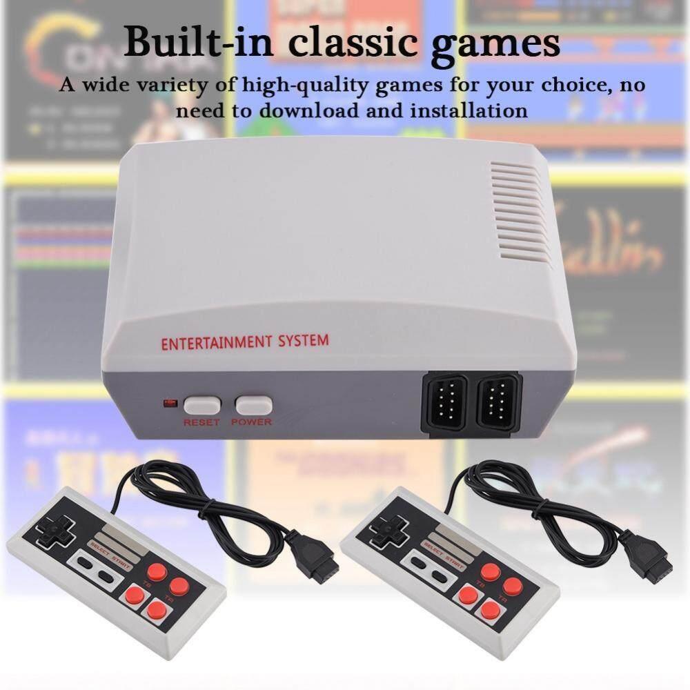 Hình ảnh Justgogo NES Game Console Entertainment System HD AV Output Dual Joysticks For NTD UK Plug