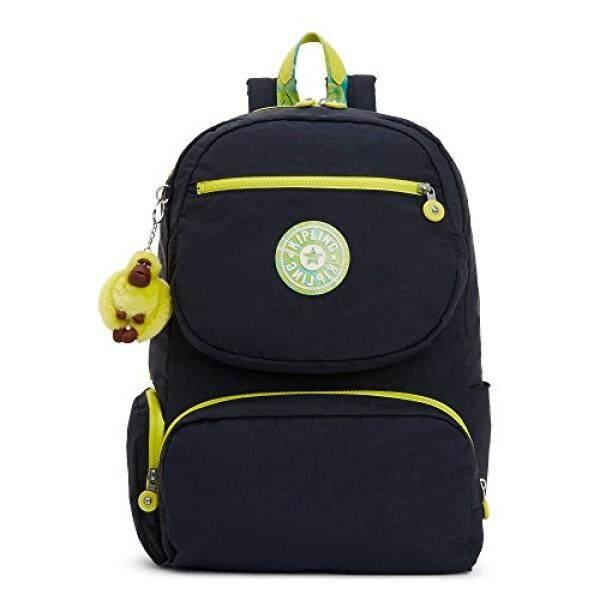Kipling Womens Dawson Large Laptop Backpack One Size Blue - intl