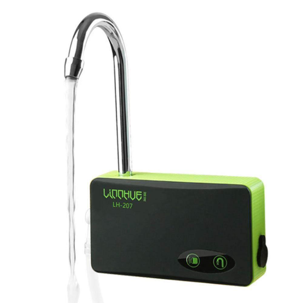 niceEshop USB Charging Air Pump Fishing Aerator Oxygenated Live Baits Aquarium Tool with 3LED Light