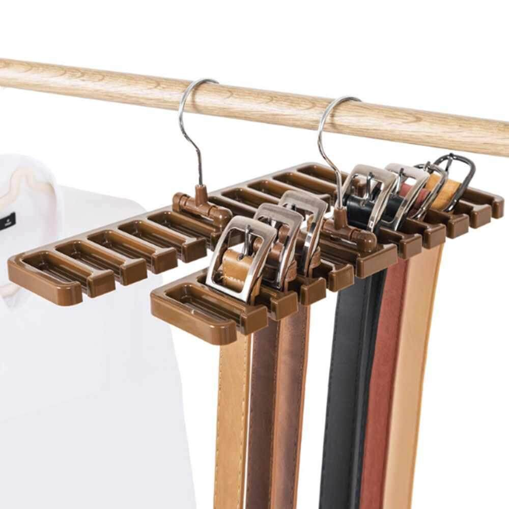 Zloyi Creative Multifunctional Finishing Storage Rack Belt Hanger Tie Rack Silk Holder 3color - Intl By Zloyi.