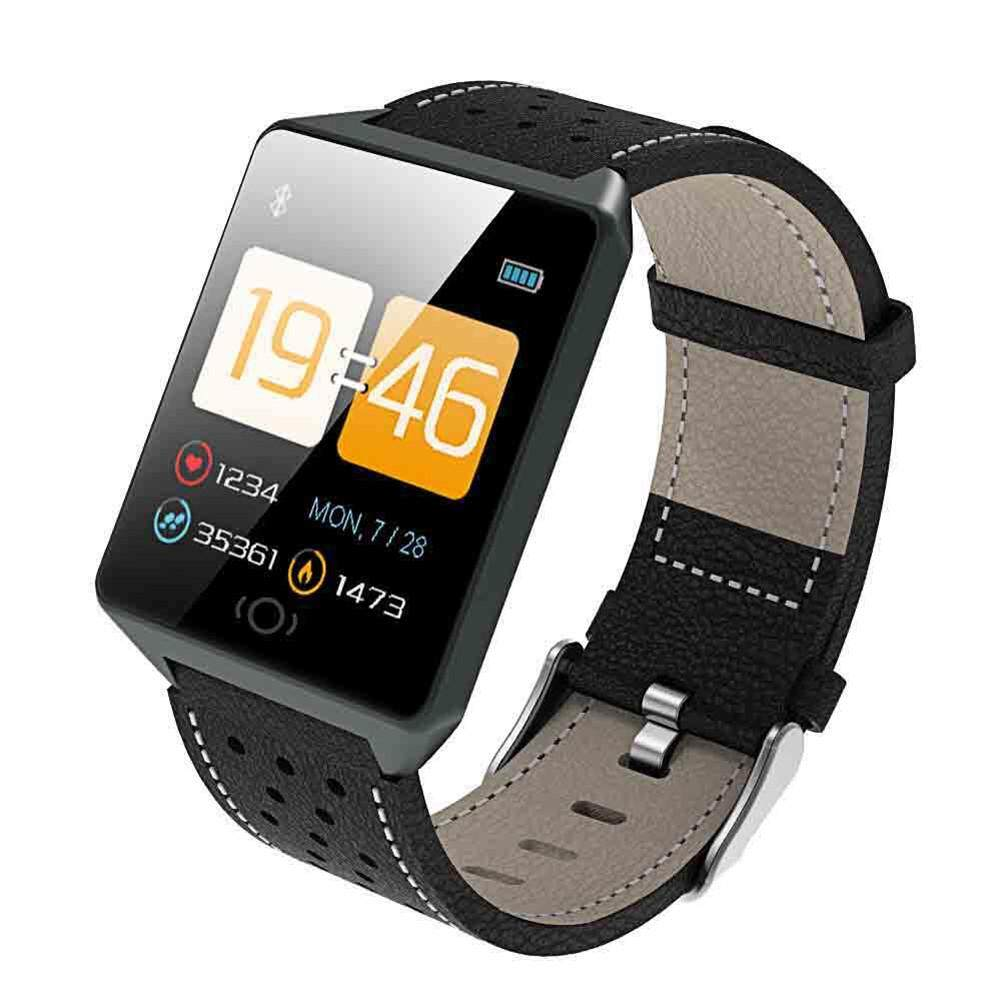Untuk Sanda Smartwatch dengan Layar Sentuh Anti Air Tekanan Darah Monitor Denyut Jantung Bluetooth Jam Tangan