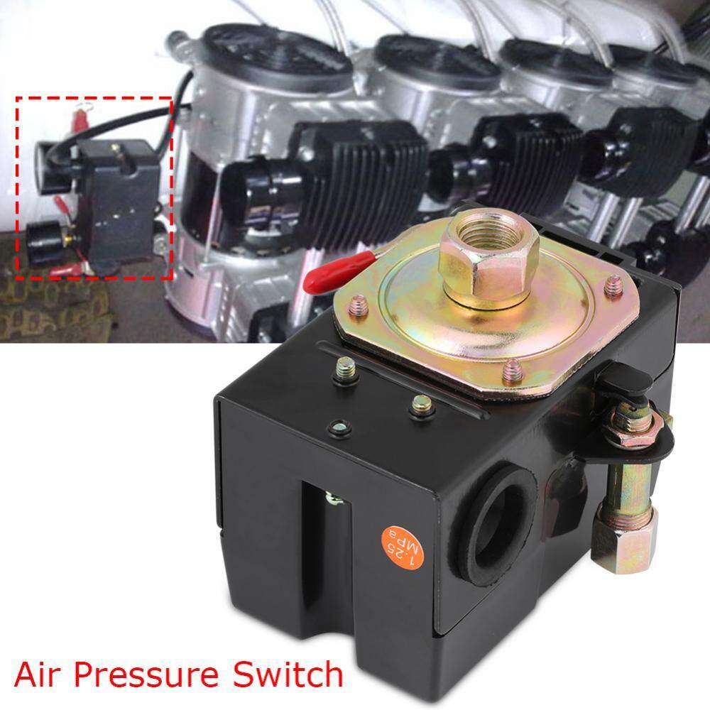Single Port Pressure Switch For Air Compressor 135-175PSI Heavy Duty 26Amps - intl