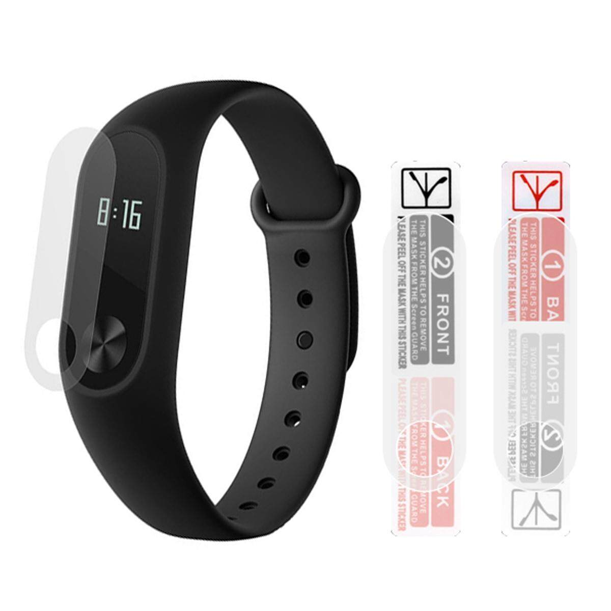 Buy Xiaomi Fitness Trackers Wearables Mi Band 3 Oled Display Free Screen Guard 2 Smart Wristband W 042 Touch Black