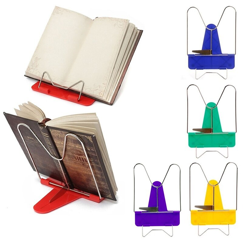 Details Of Novelty Adjule Angle Foldable Reading Book Stand Holder