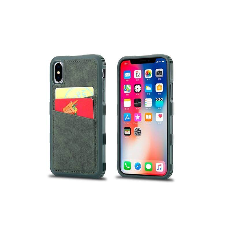 Phone Case for iPhone X iPhone Xs Case TPU + PC Shockproof Phone Back Case with