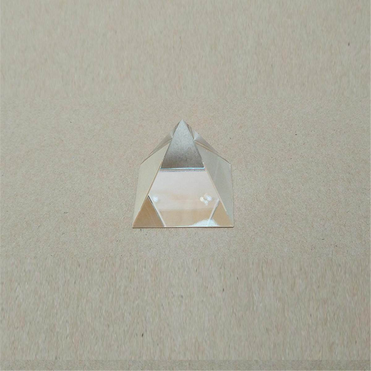 40 Mm Prisma Kaca Optik Sorotan Splitter Kristal Pyramid untuk Ilmu Optik DIY #100 Mm-Internasional