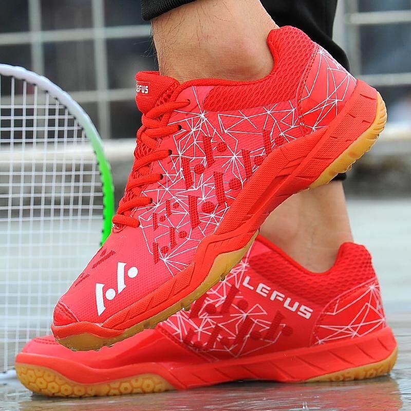 Yealon Sepatu Bulutangkis Wanita Pria Sneakers Wanita Sneakers Pelatihan Bernapas Anti-Slippery Ringan Sneakers Sepatu Olahraga Sneakers Sepatu