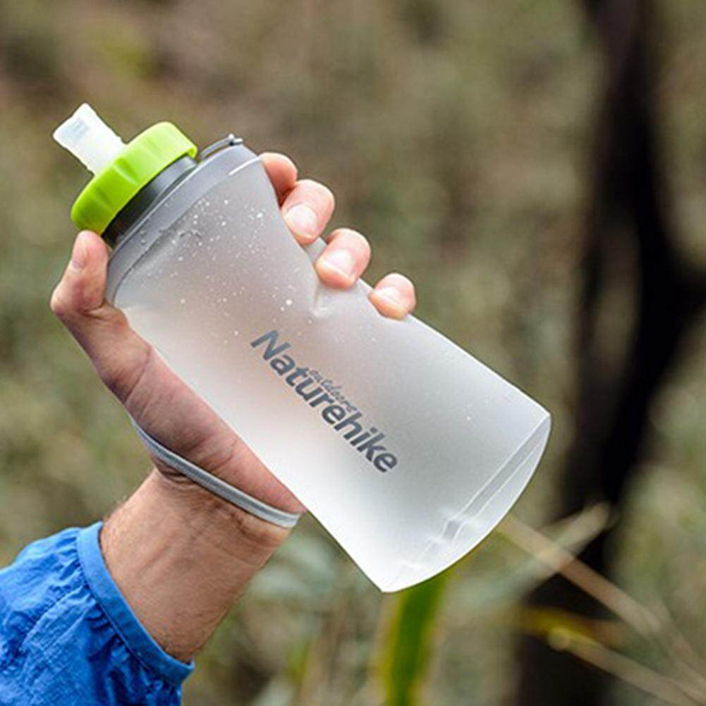 Redcolourful Creative Flexible Folding Bottle Portable Water Bag Soft Sport Kettle For Cycling Hiking Backpacking Volume:750ml/500ml By Redcolourful.