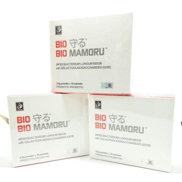 C-WELL BIO MAMORU 2.5G X 10SACHETS(PROBIOTIC) - 1 BOX