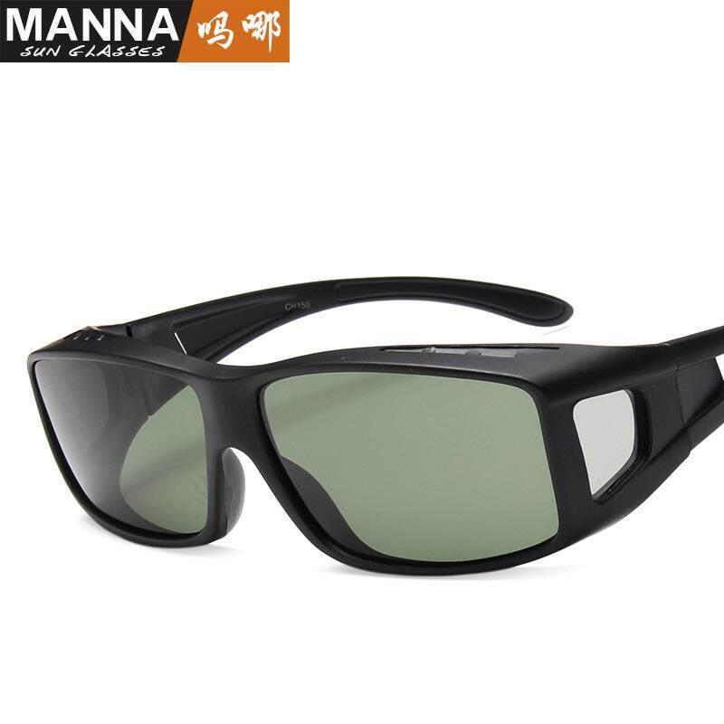 Detail Gambar Tahan Angin Bersepeda Kacamata Hitam Terpolarisasi Pria dan Frame Kacamata Perempuan Kacamata Luar Ruangan